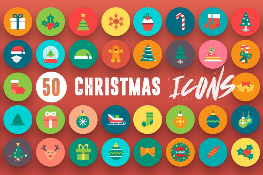 Modern 50 Christmas Icons 3