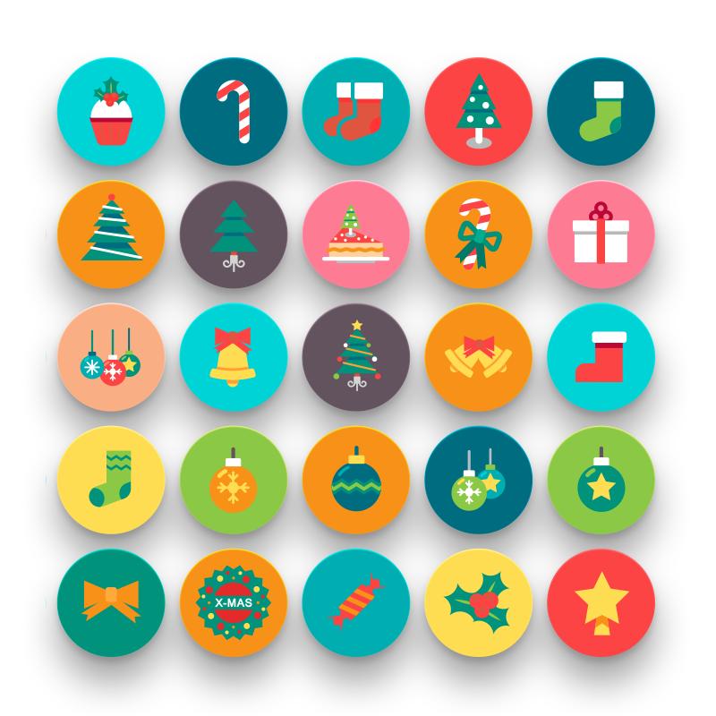 50 Christmas Icons 3