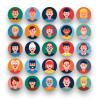 50 Avatar Icons