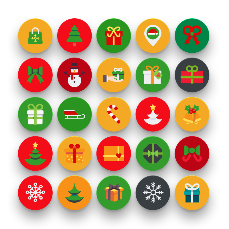 50 Christmas Icons