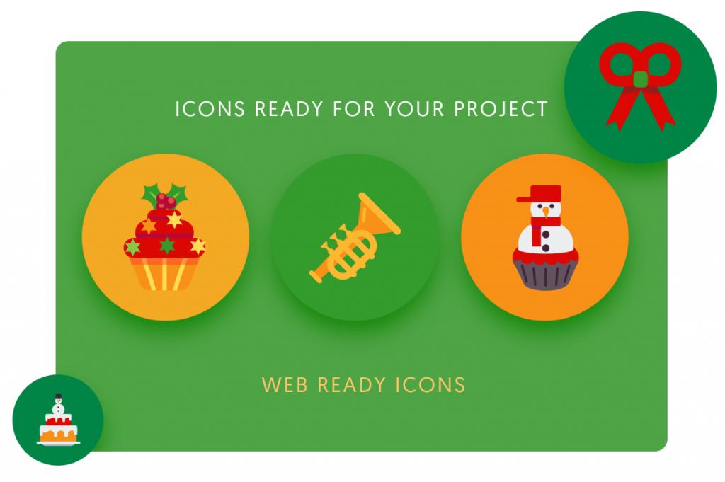 web ready 50 Christmas Icons