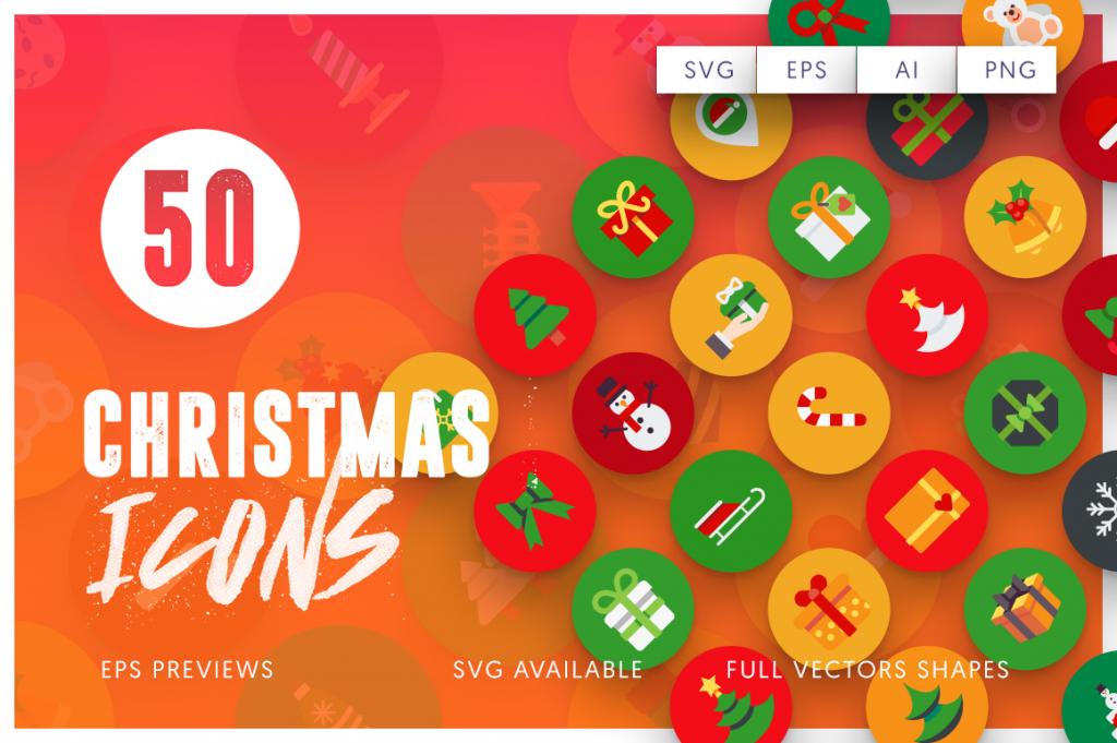 christmas-flat-icons