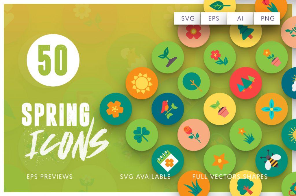 50-spring-icons-set-1-5