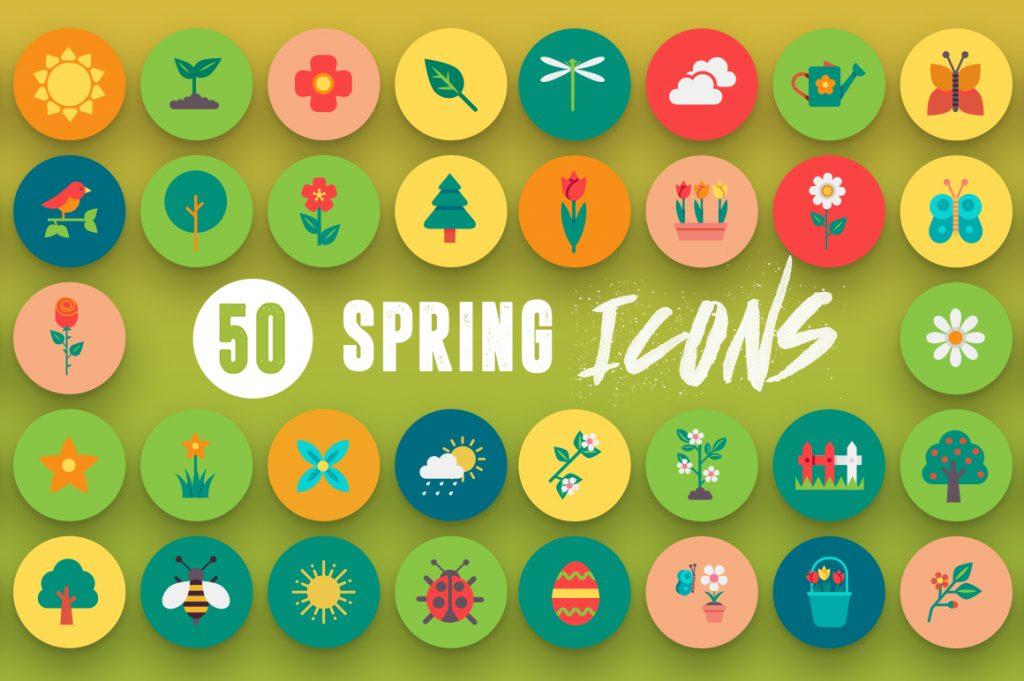 50-spring-icons-set-1-6