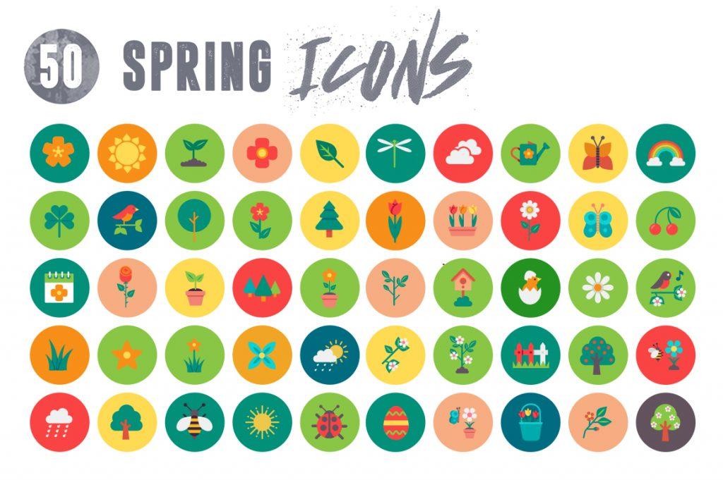 50-spring-icons-set-1-7