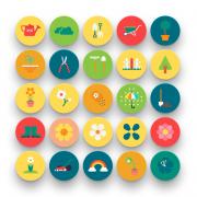 Spring-Icons-Flat-Set-Shop-1