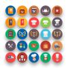 Restaurant-Flat-Icons