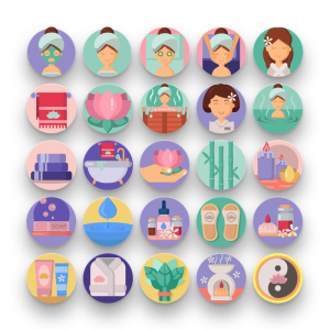 50 Spa and Sauna Icons