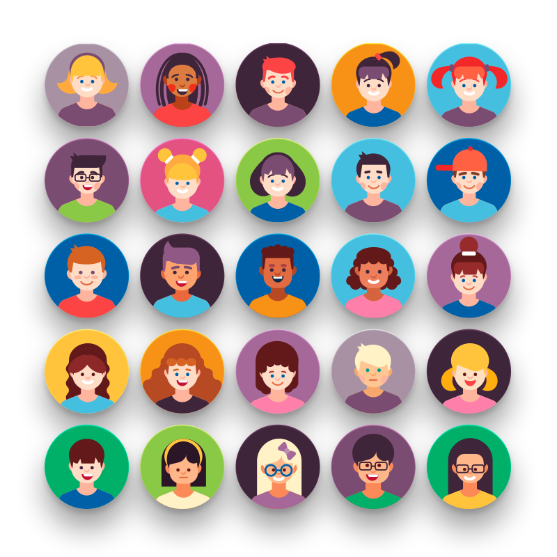 50 Kid Avatar Icons