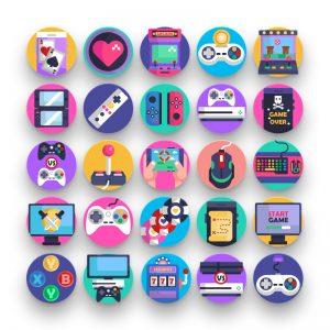 50 Gaming Icons