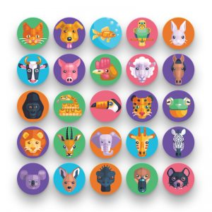 50 Animal Avatar Icons