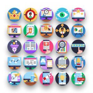 50 Seo & Marketing Icons