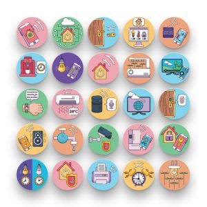 50 Smart home & IoT Icons