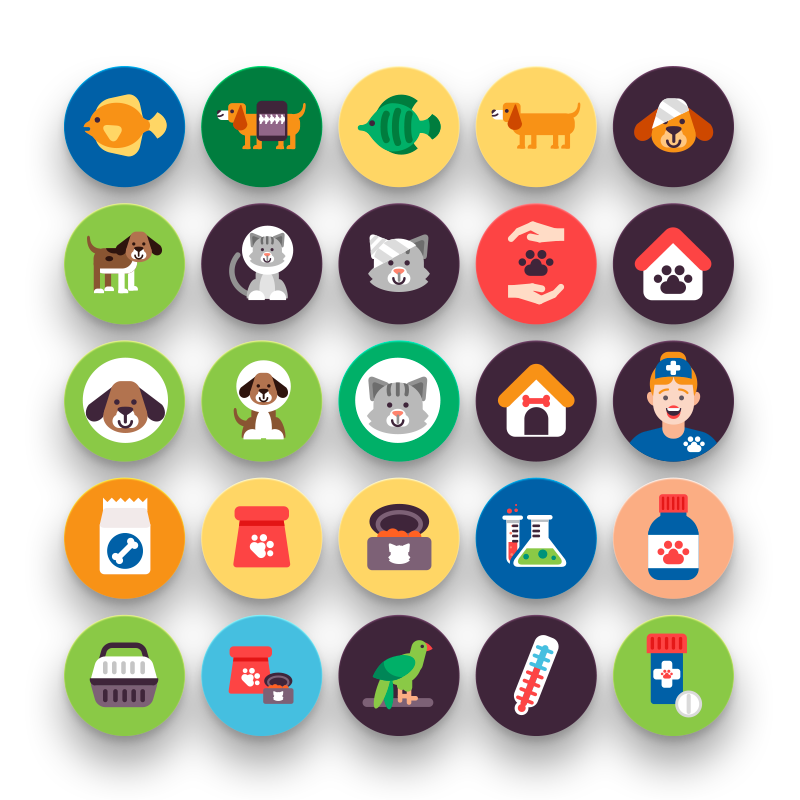 50 Petshop Icons