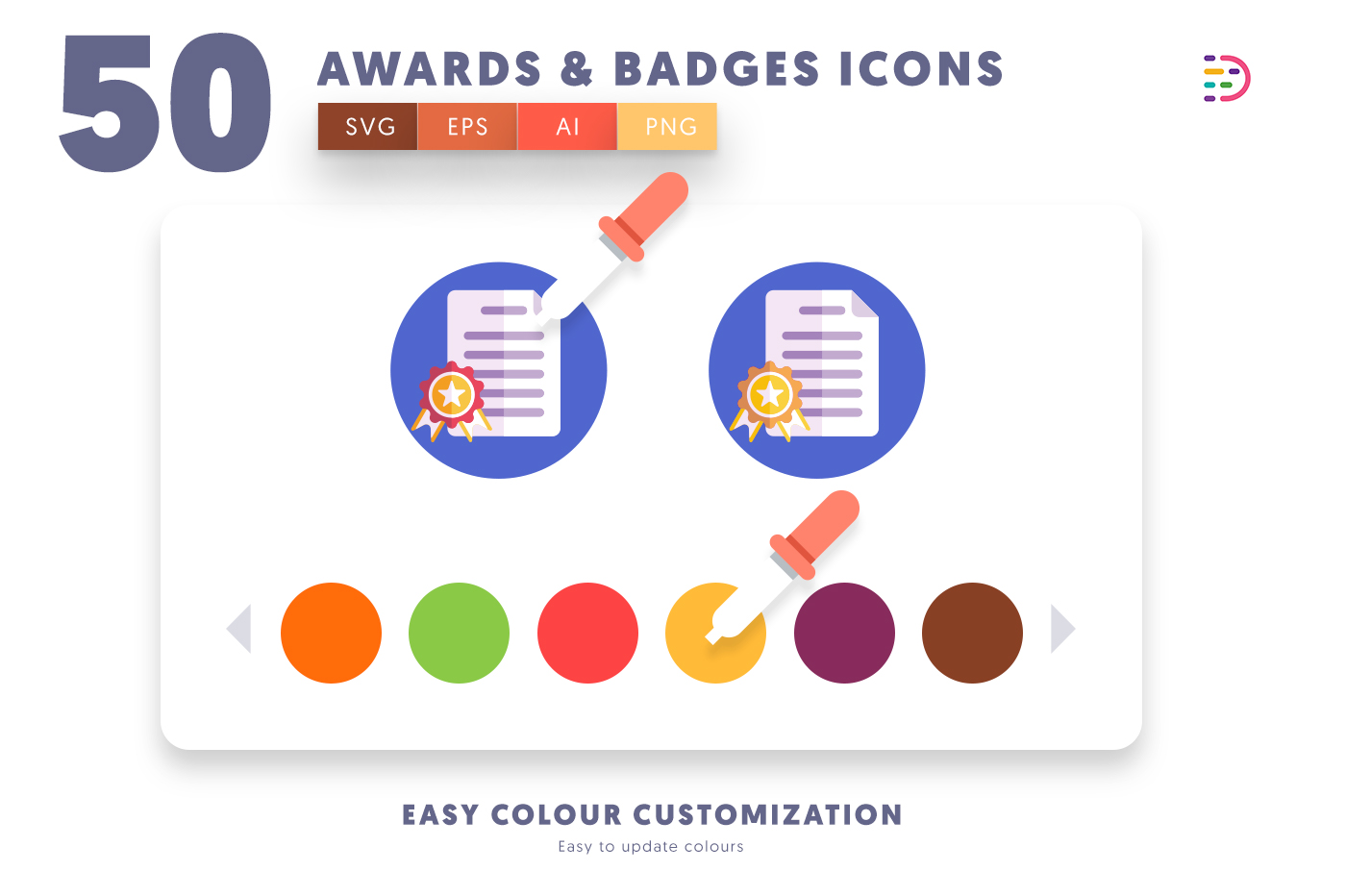 info graphic Awards Badges Icons EPS, SVG, PNG