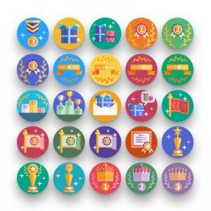 awards-badges-icons
