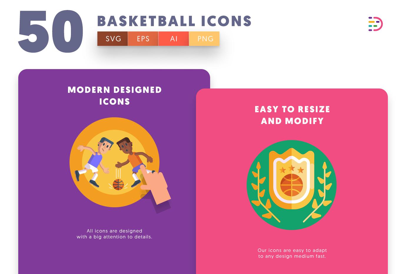 Basketball icons png/svg/eps