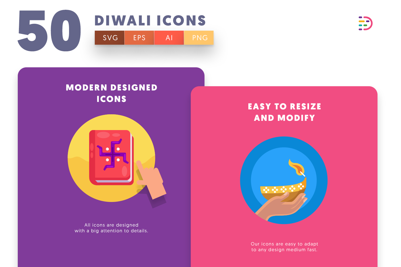 Diwali icons png/svg/eps