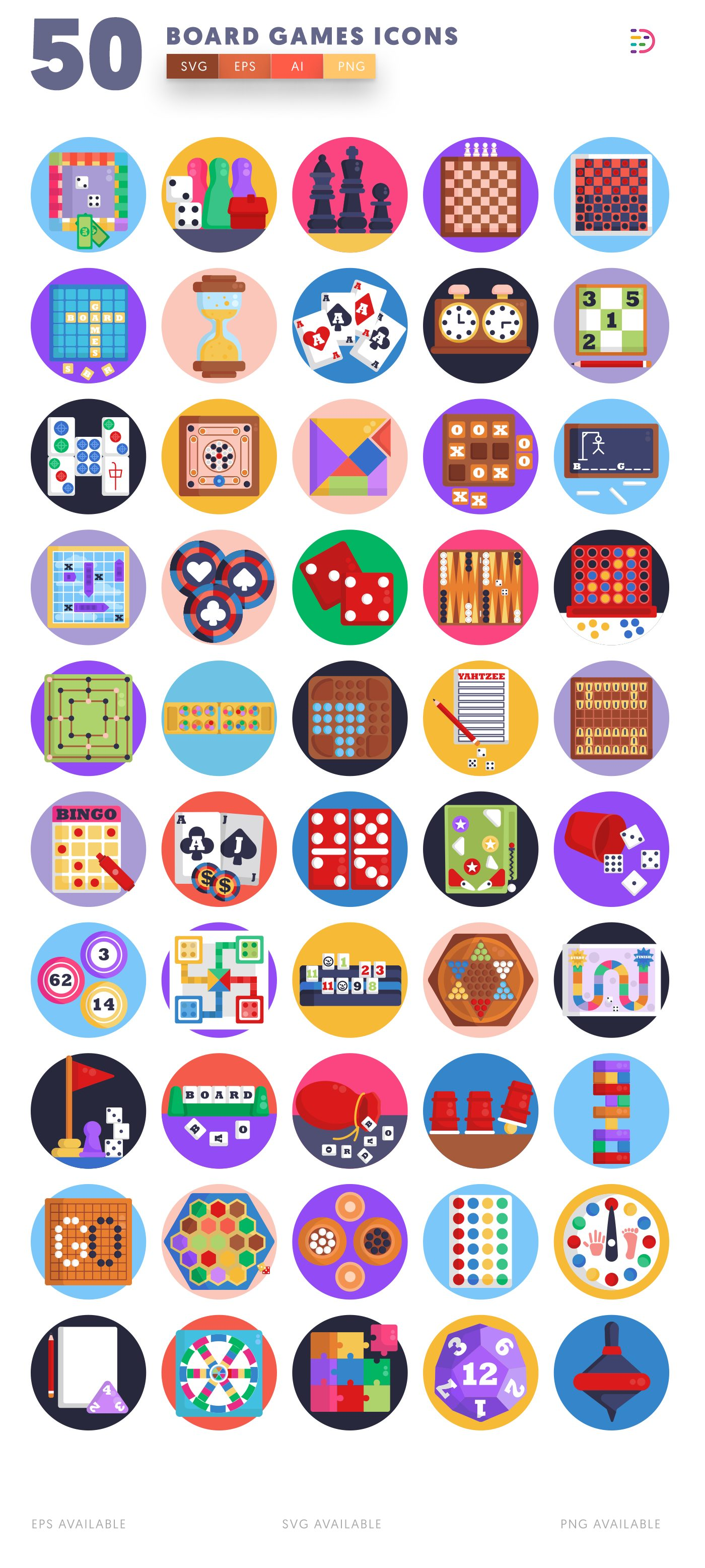 Board Games icon pack