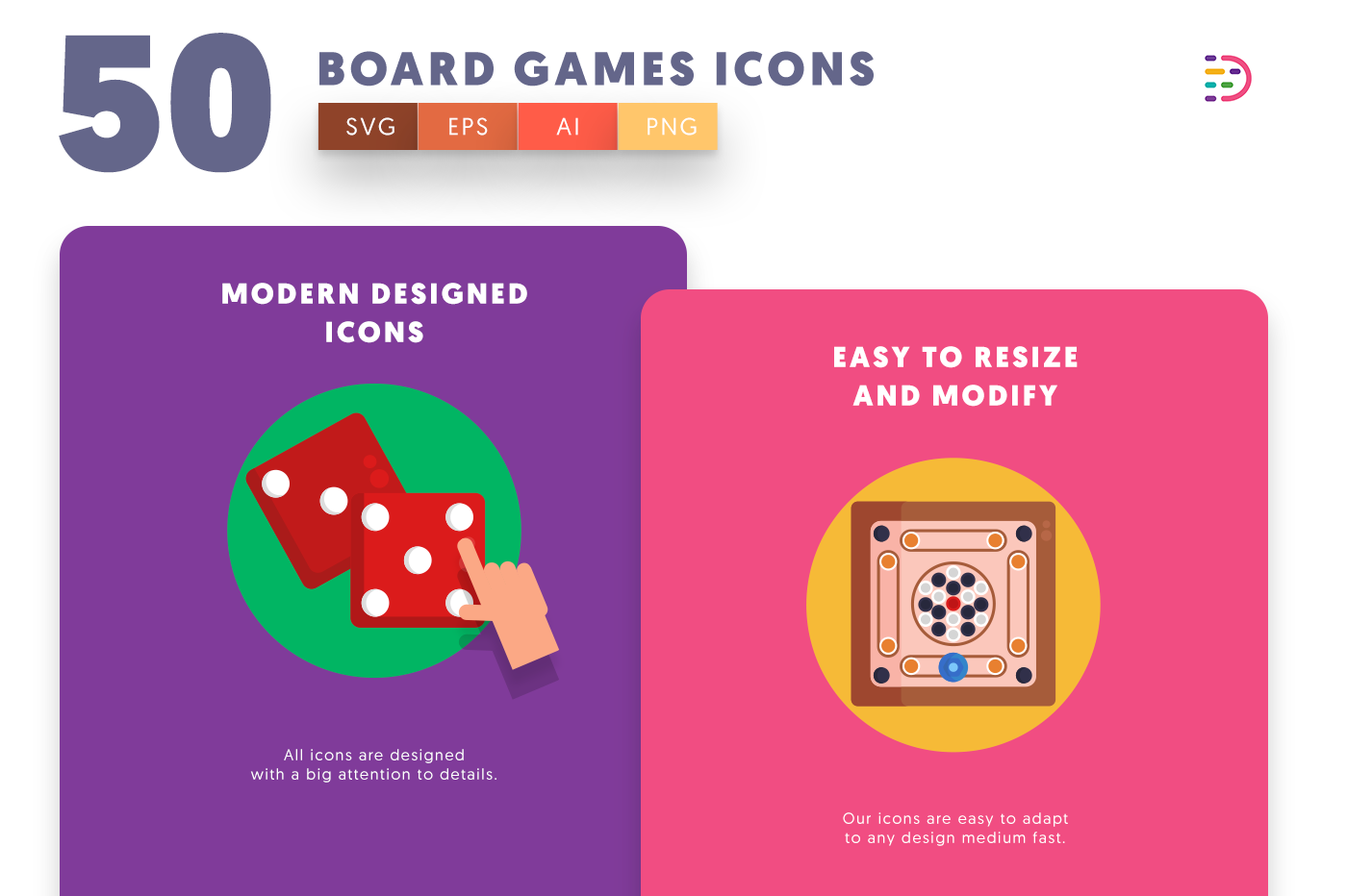 Board Games icons png/svg/eps