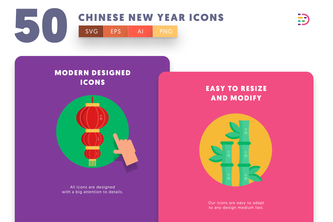 Chinese New Year icons png/svg/eps