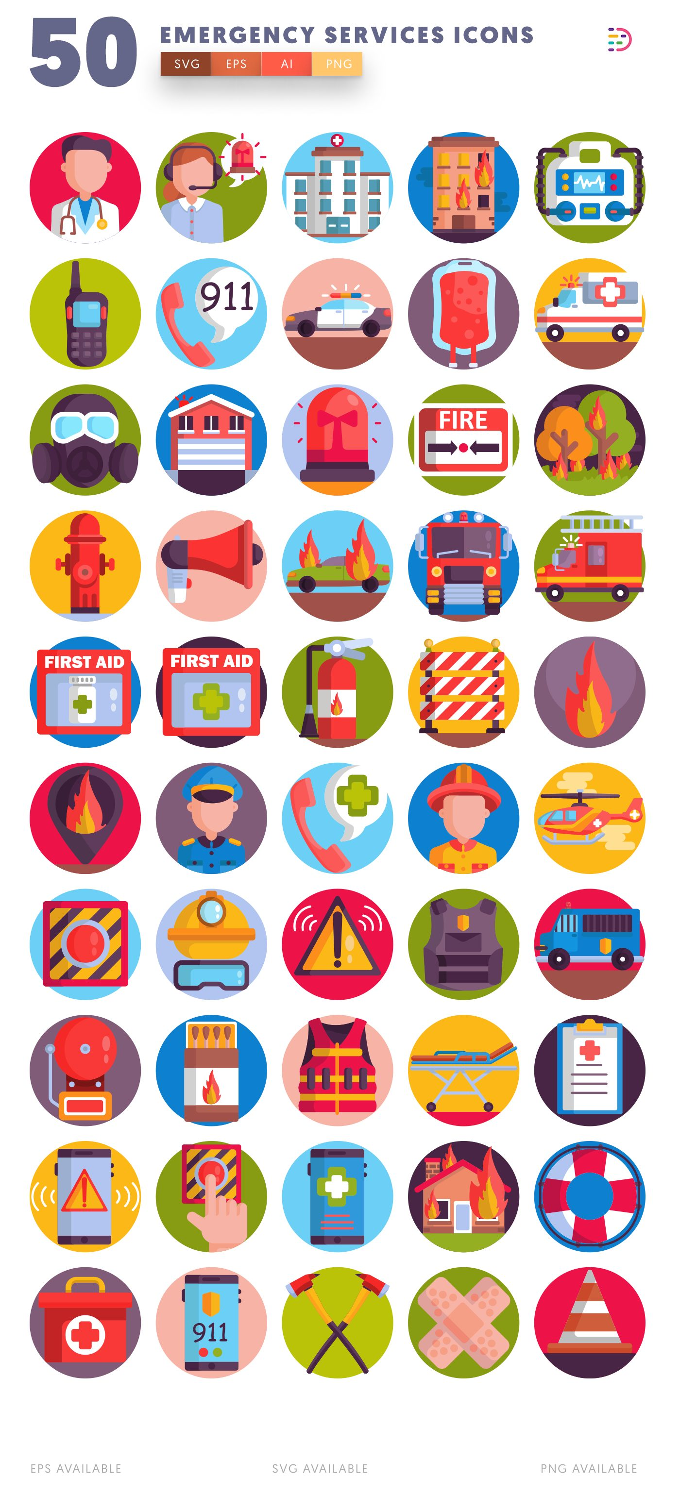 Emergency Services icon pack
