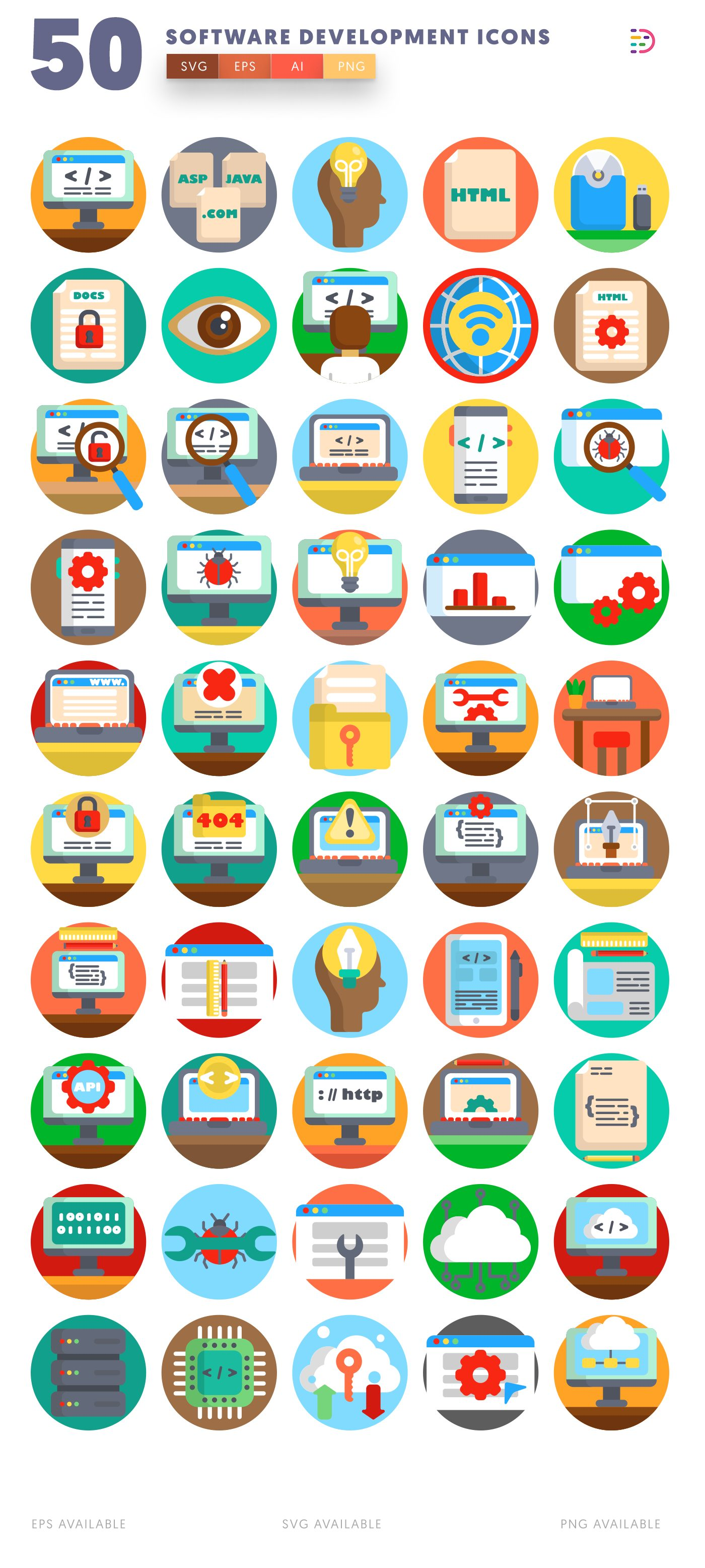 Software Development icon pack