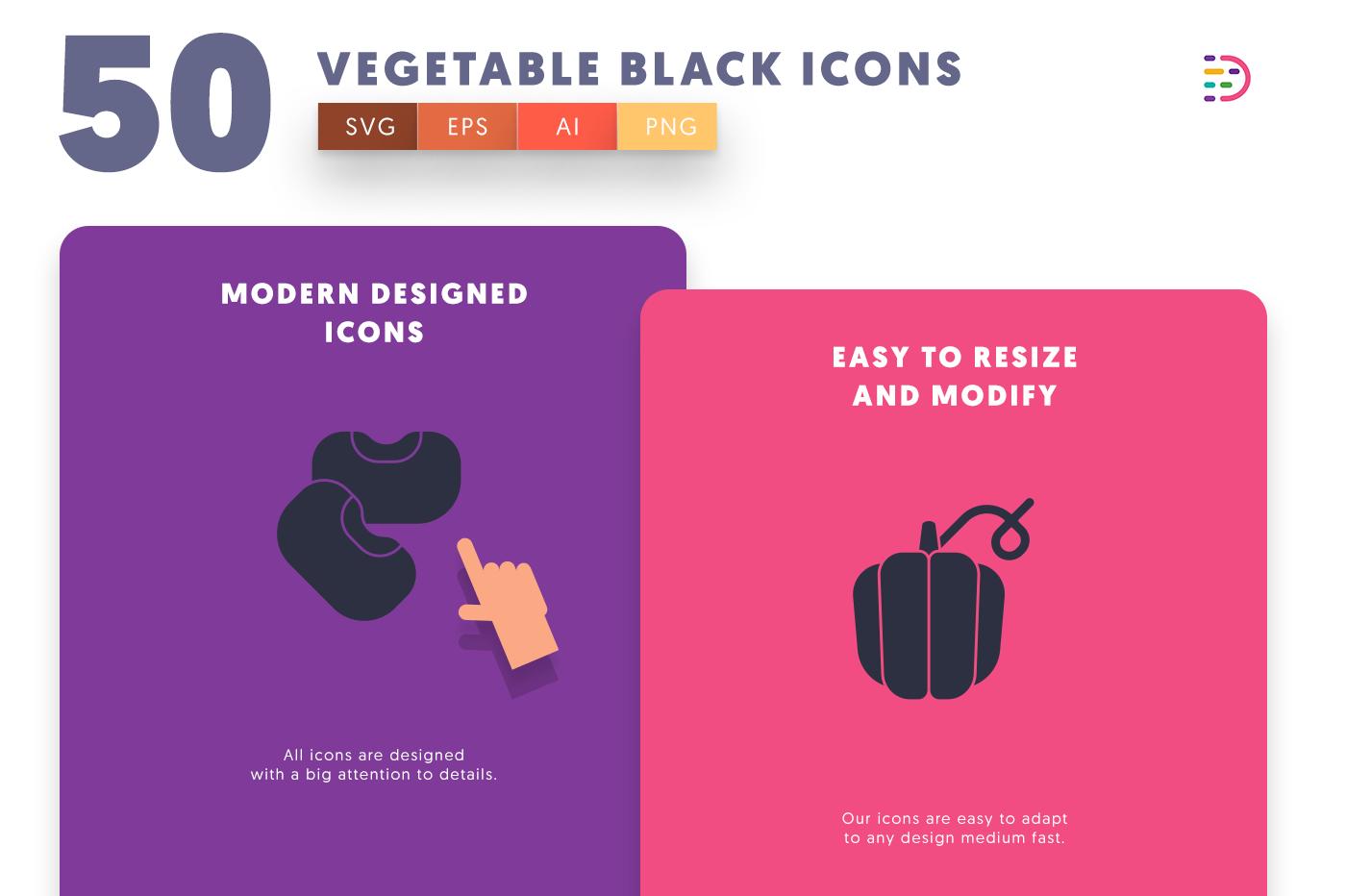 Vegetable Black icons png/svg/eps