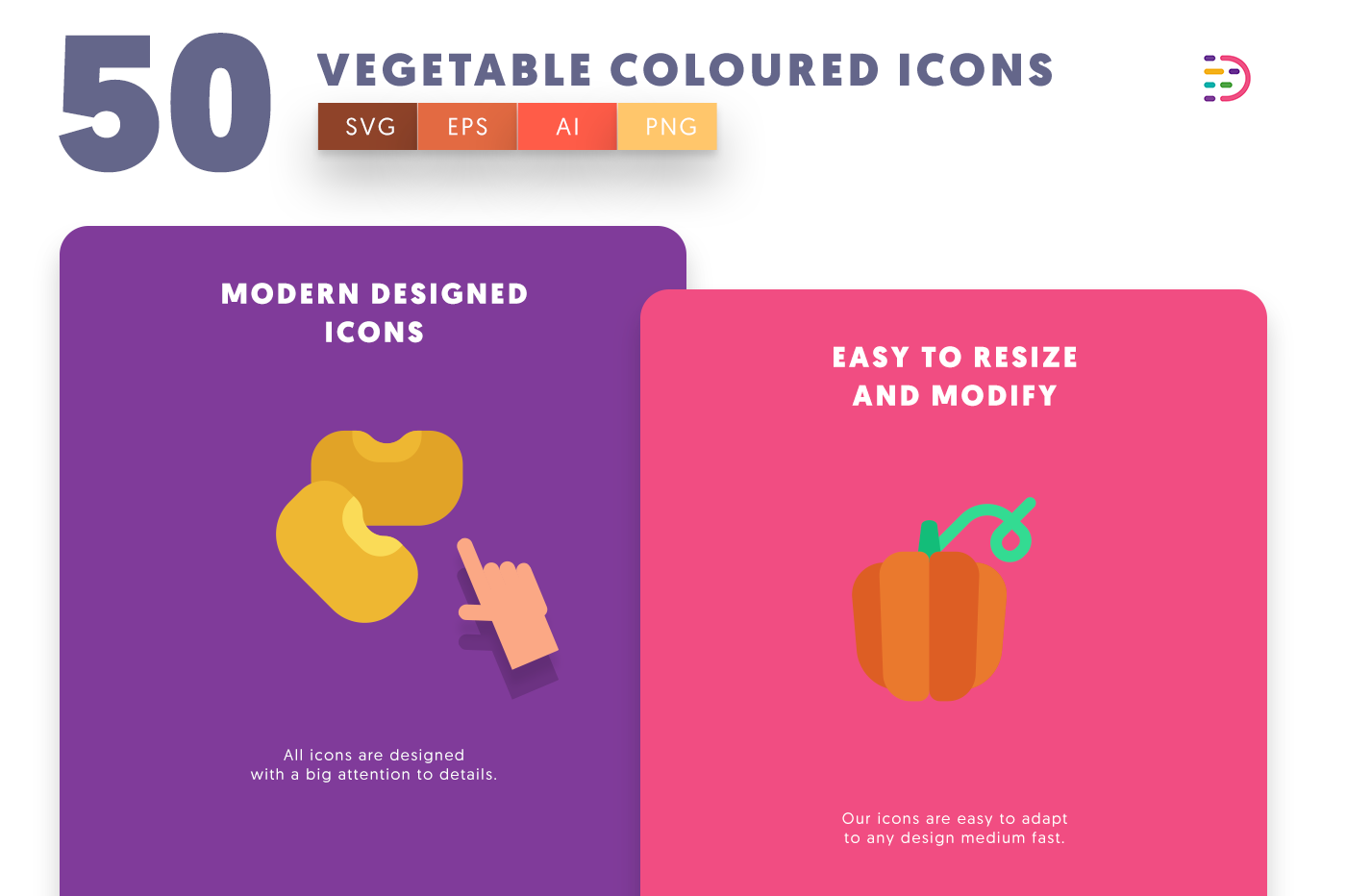 Vegetable Coloured icons png/svg/eps