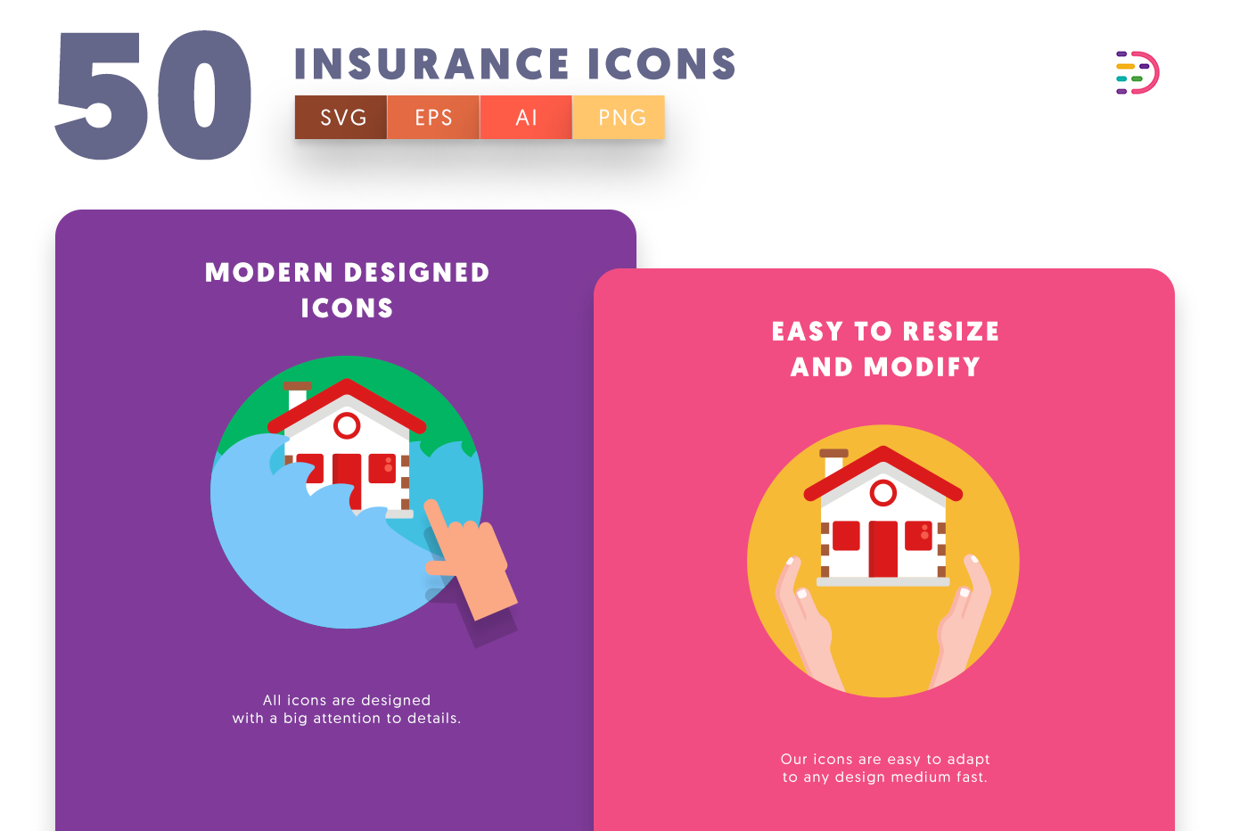 Insurance icons png/svg/eps
