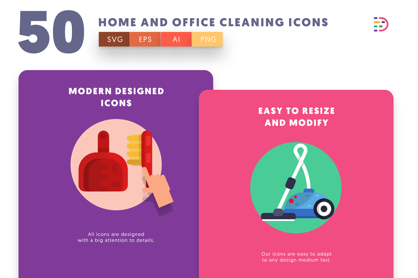 Home and Office Cleaning icons png/svg/eps