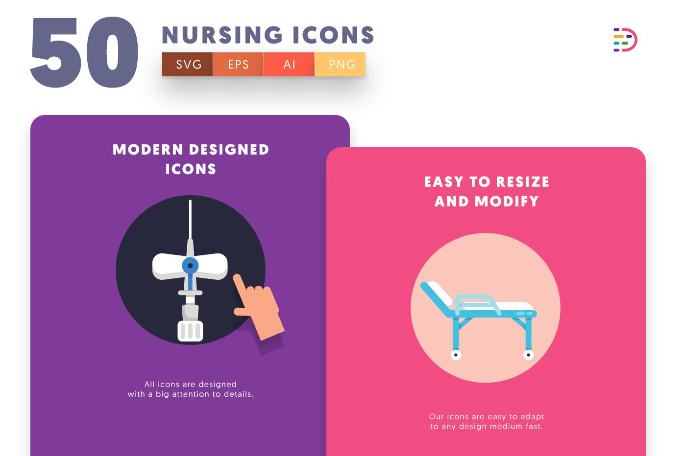 Nursing icons png/svg/eps