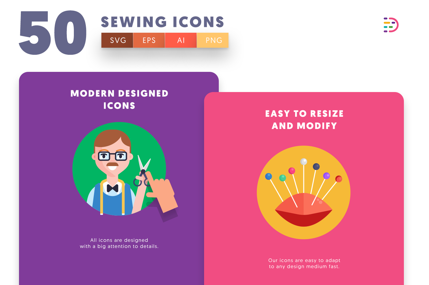 Sewing icons png/svg/eps