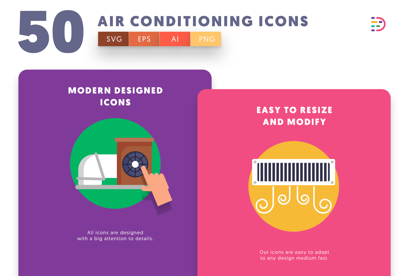 Air Conditioning icons png/svg/eps