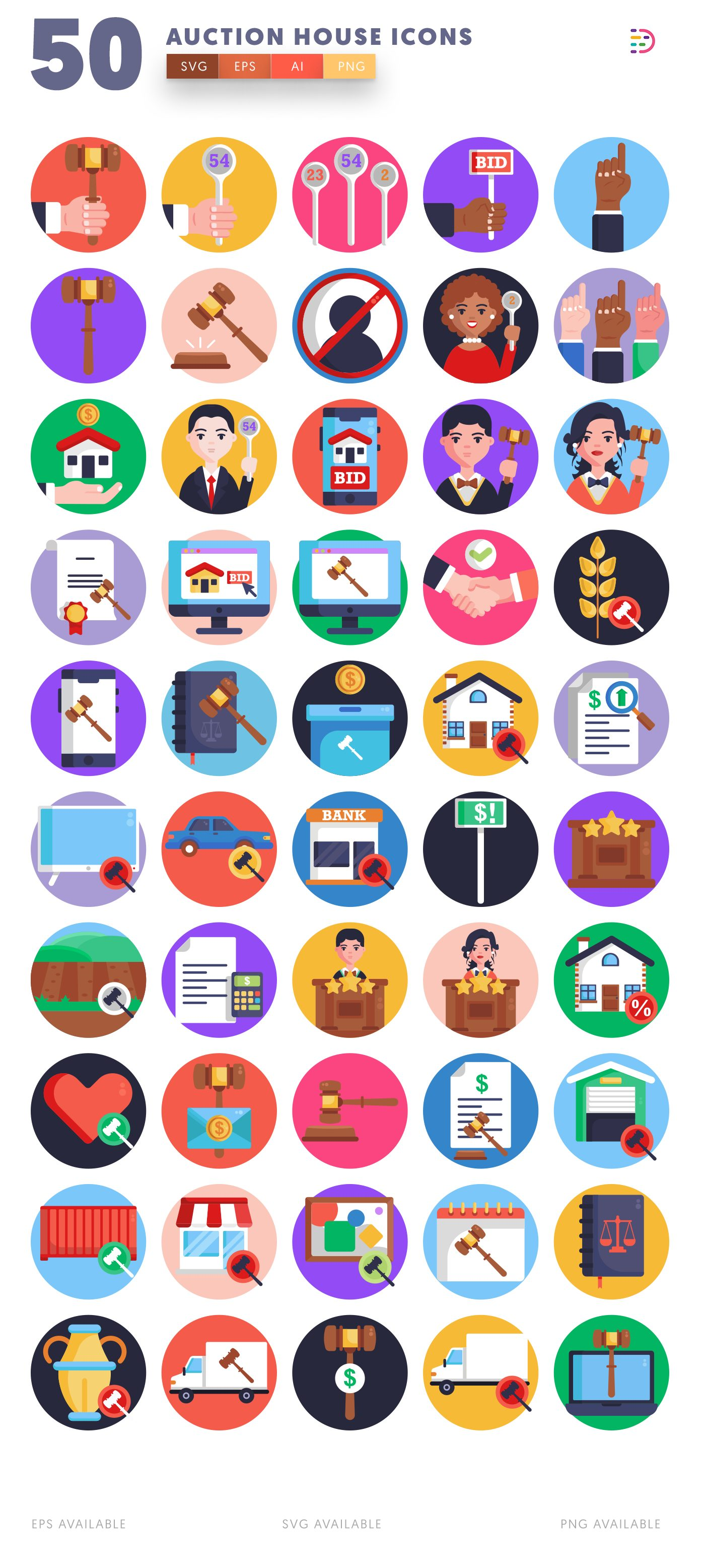 Auction House icon pack