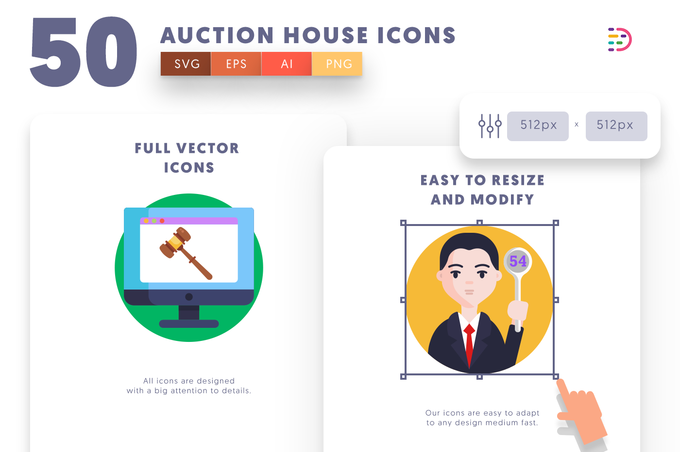 Full vector 50AuctionHouse Icons