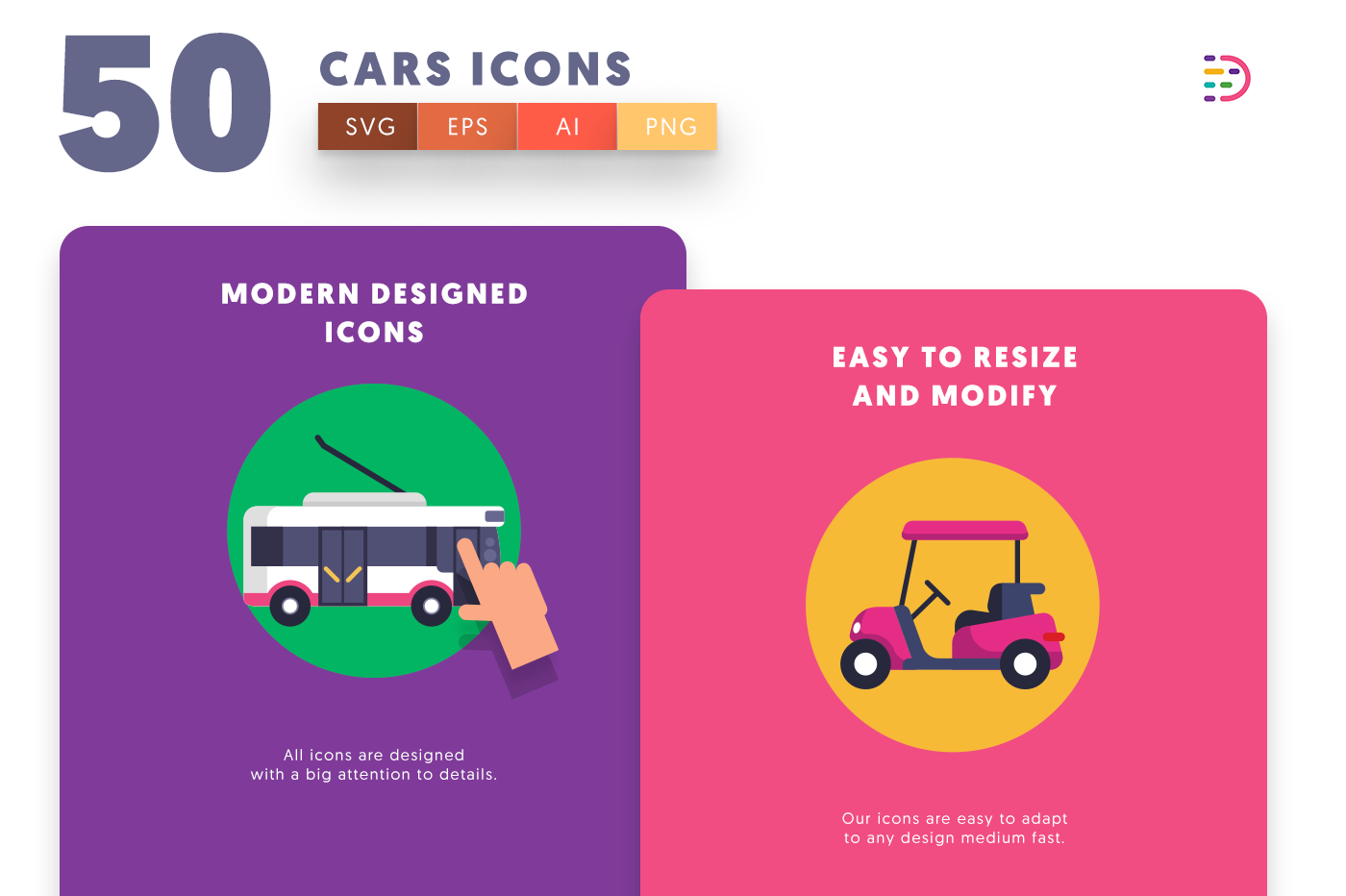 Cars icons png/svg/eps