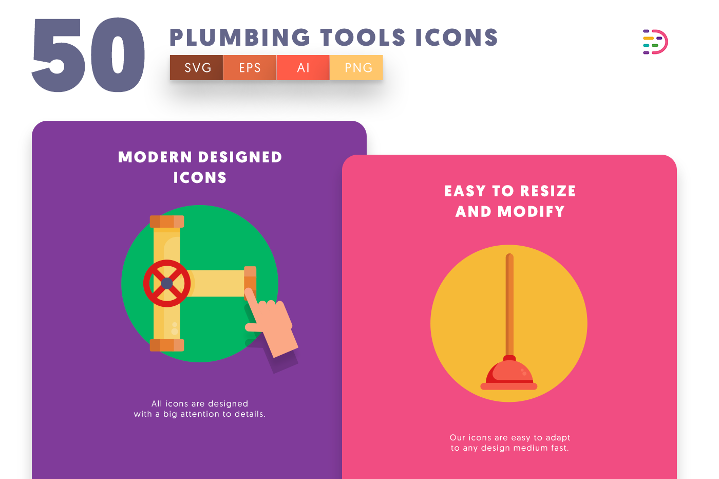 Plumbing Tools icons png/svg/eps