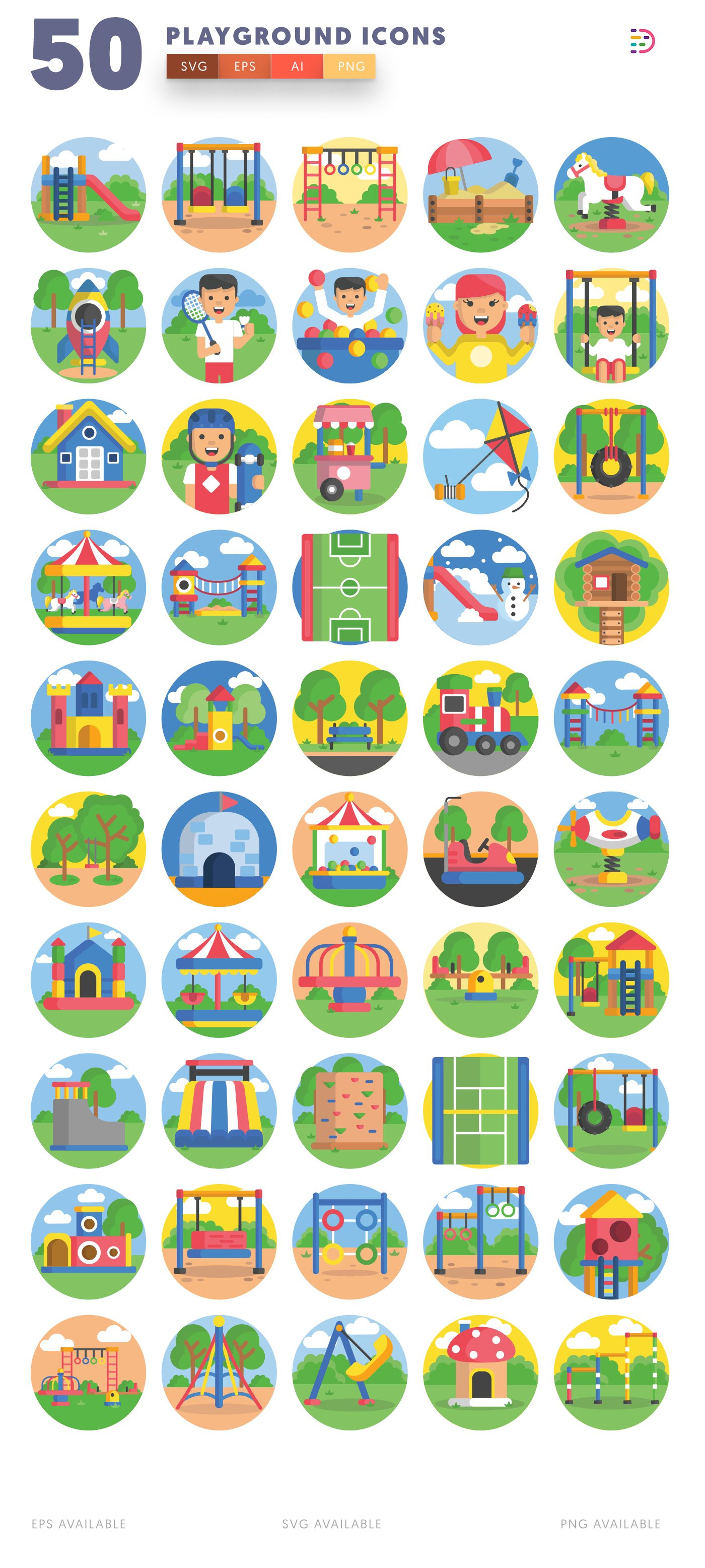 Playground icon pack